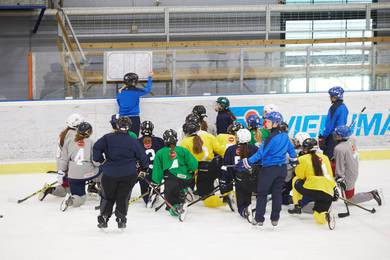 Athletes from 41 countries are due to participate in the IIHF Women's High-Performance Camp ©IIHF/Toni Saarinen