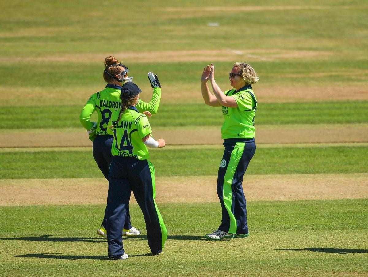 Ireland through to semi-finals at ICC Women's World Twenty20 qualifying tournament
