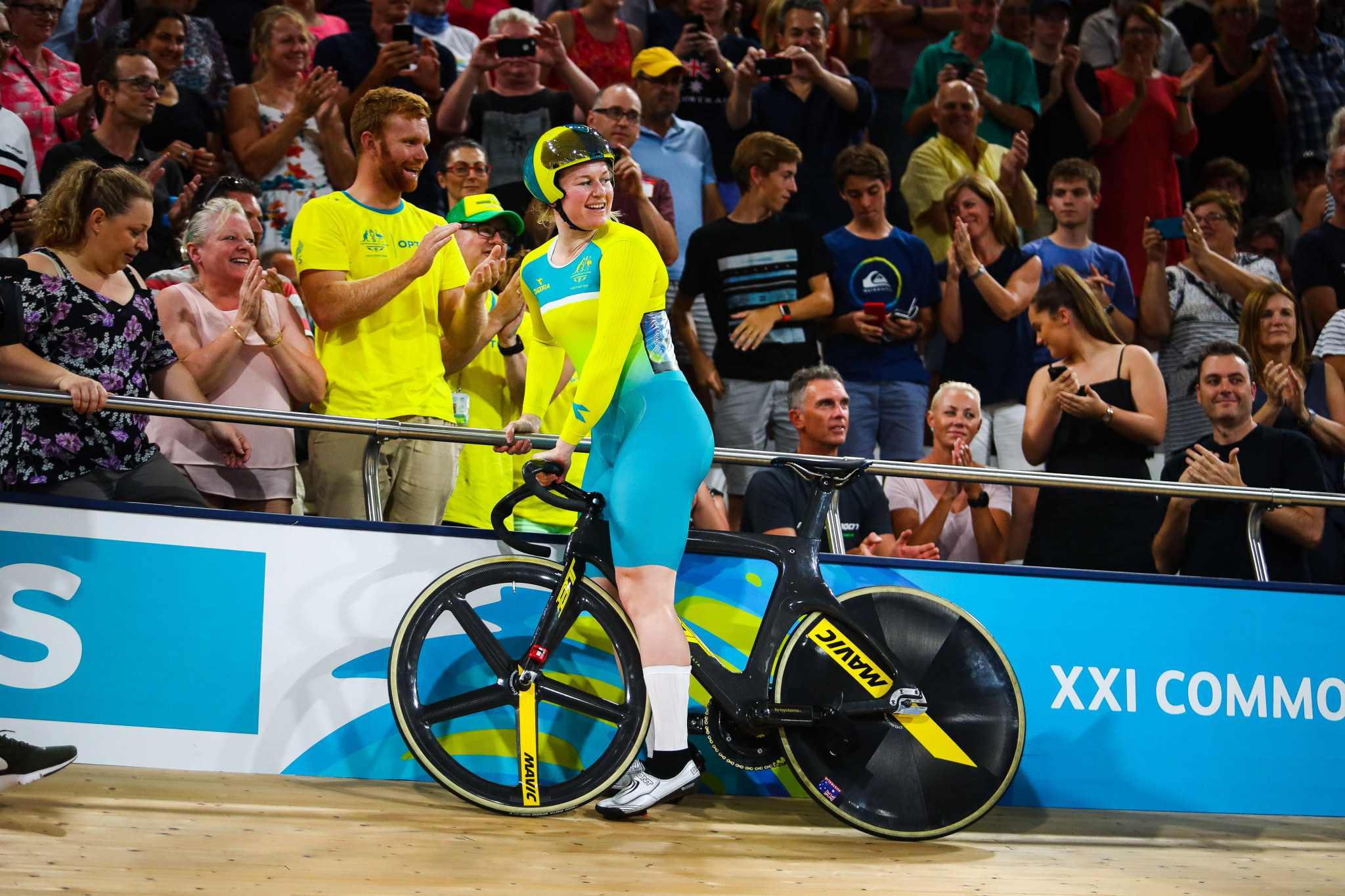 The Anna Meares Velodrome used at April's Commonwealth Games will also feature ©Getty Images