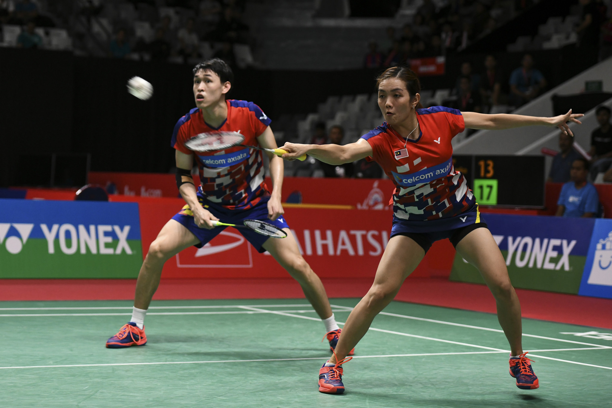 Second seeds crash out of mixed doubles event at BWF Thailand Open