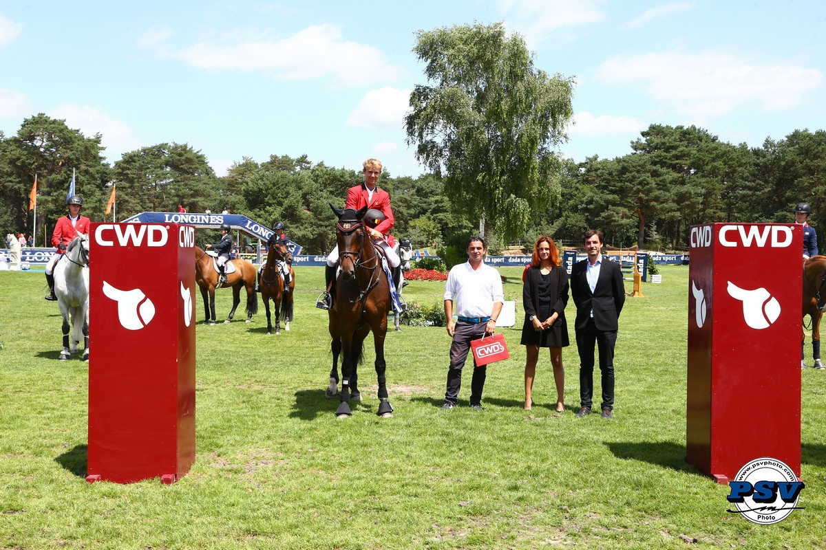 Belgian young riders hit the front at FEI age group European Championships