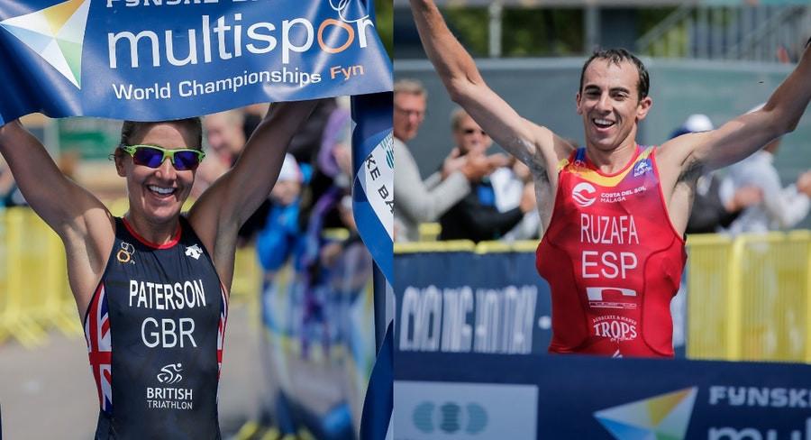 Spanish and British cross-triathlon wins at ITU Multisport World Championships