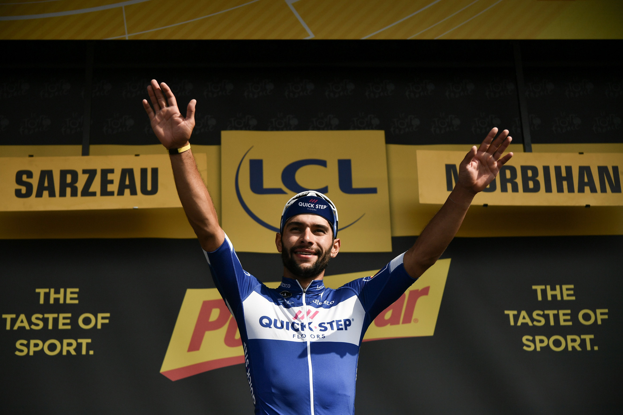 Gaviria sprints to second stage win at 2018 Tour de France