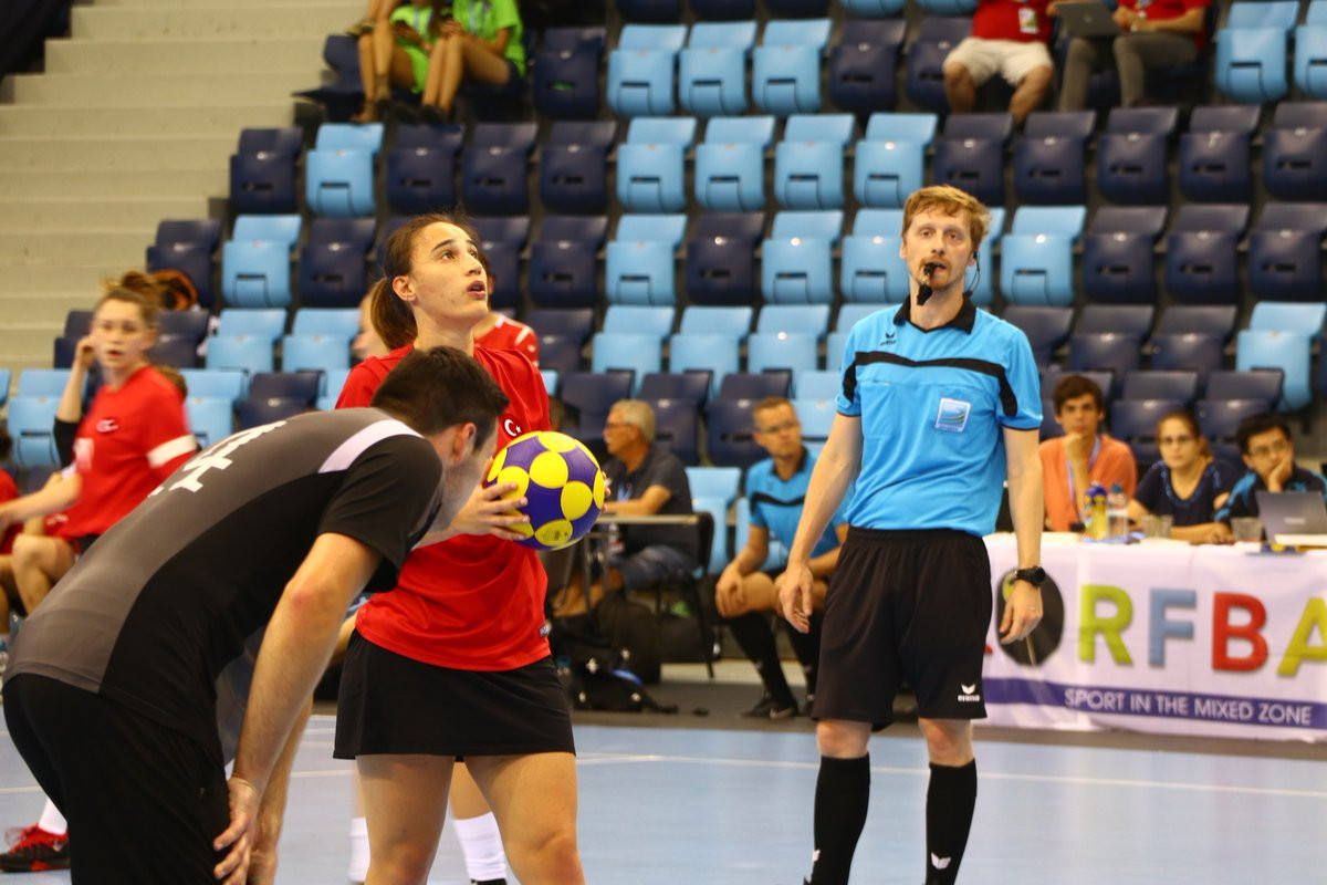 Turkey recorded their first win of the tournament as they beat Germany ©IKF