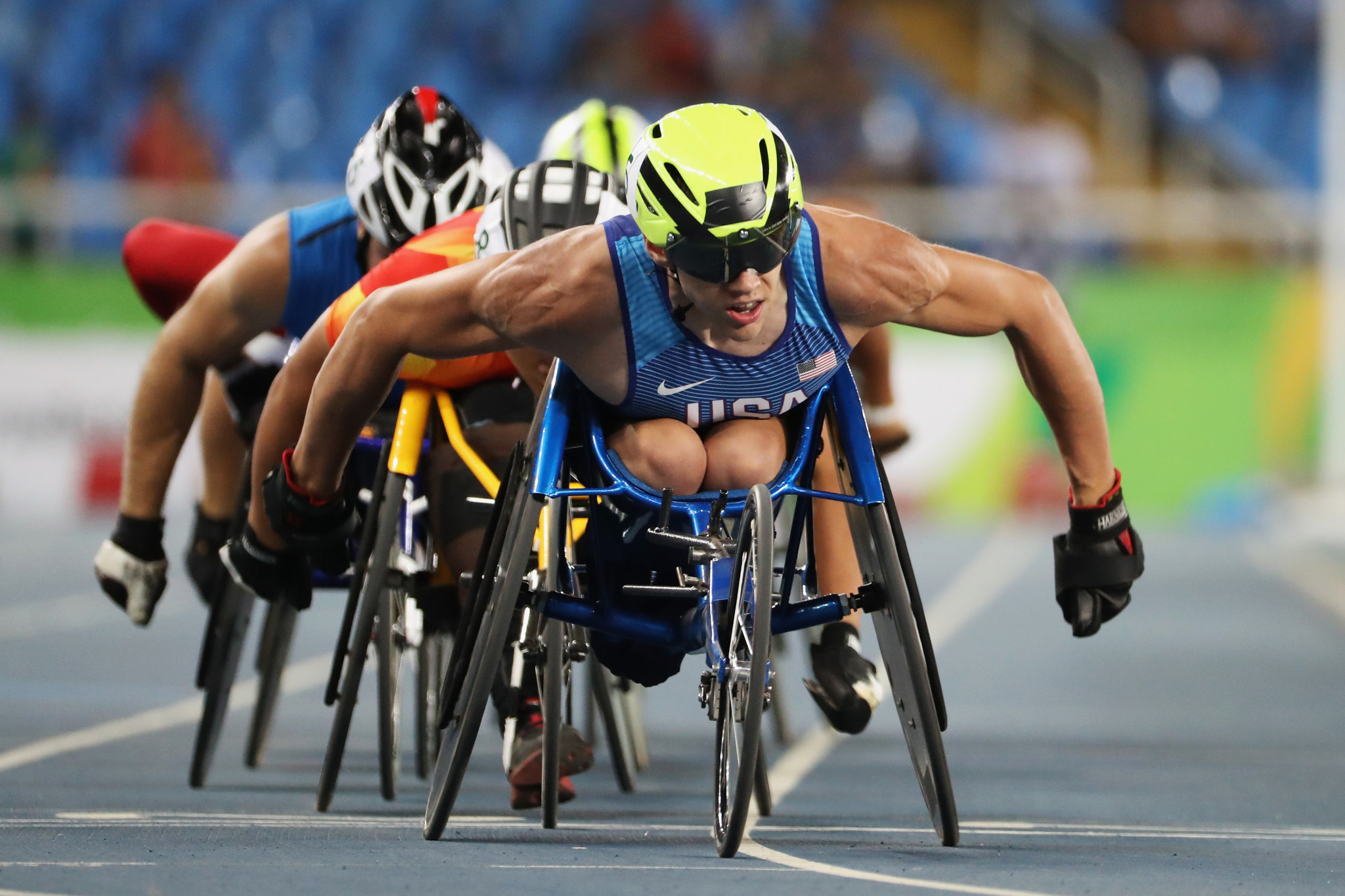 American wheelchair racer Daniel Romanchuk was among the nominees ©Getty Images