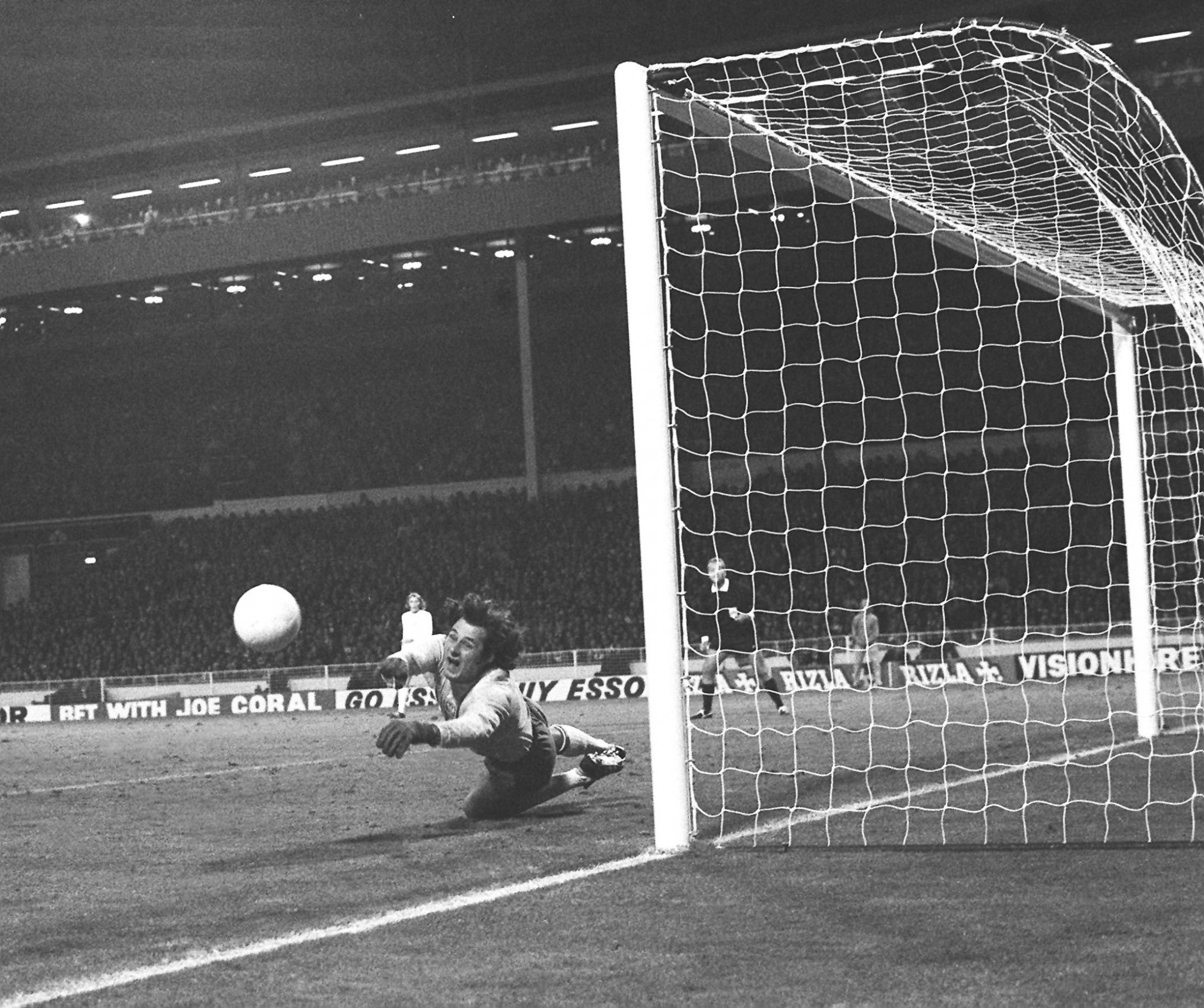 An inspired performance from Poland's goalkeeper Jan Tomaszewski, a figure of fun before the match, at Wembley in 1973 meant England failed to qualify for the following year's World Cup ©Getty Images