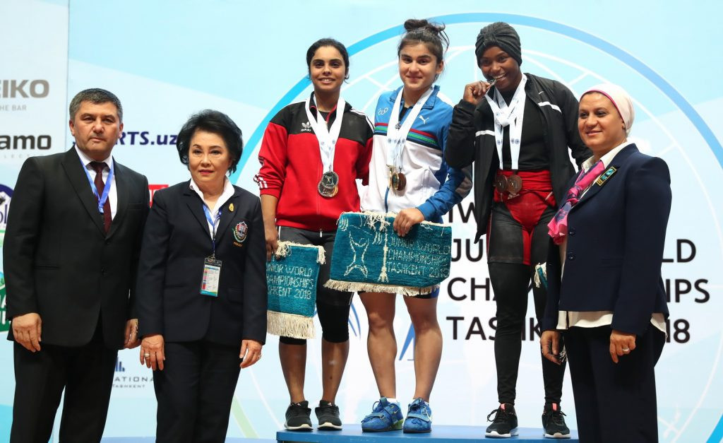 Fayzullaeva claims home gold at IWF Junior World Championships