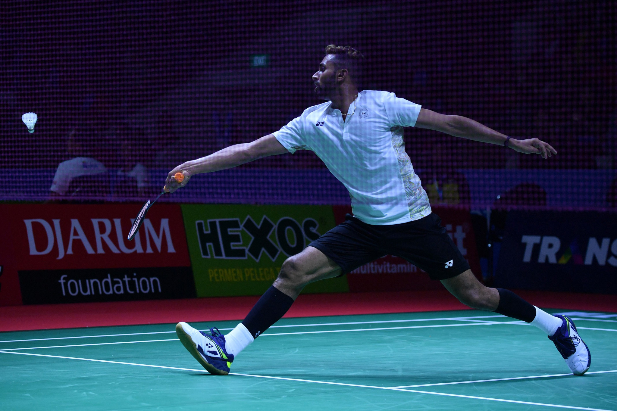India's HS Prannoy was among the winners in the first round of the men's singles draw ©Getty Images