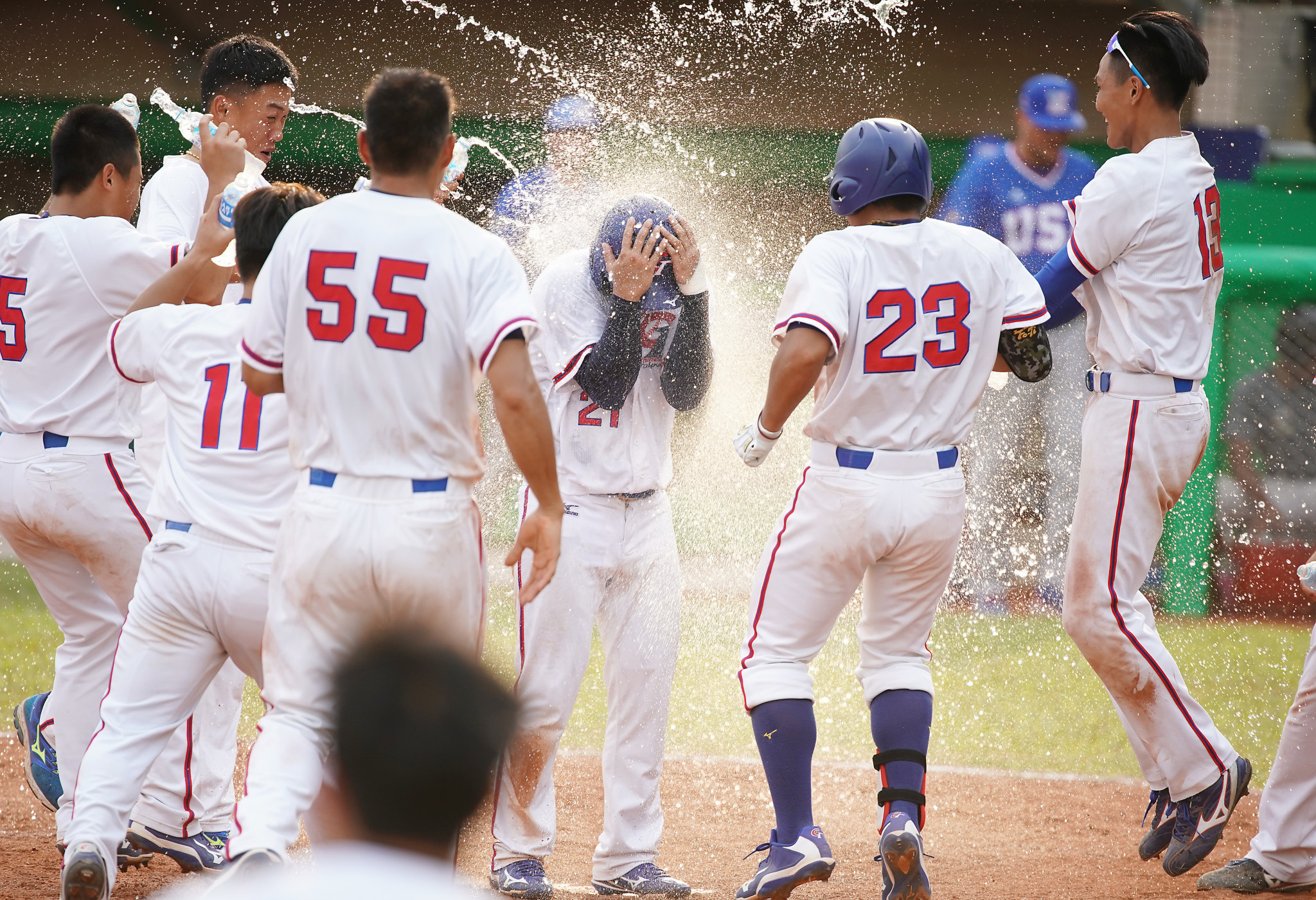 Chinese Taipei beat the United States in a thriller at the World University Baseball Championship ©FISU