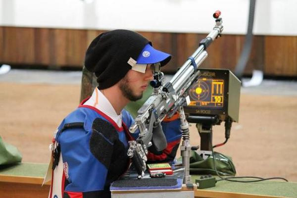 Britain's Tim Jeffery edged a thrilling final to take gold as well as a Rio 2016 quota spot ©IPC Shooting/Twitter