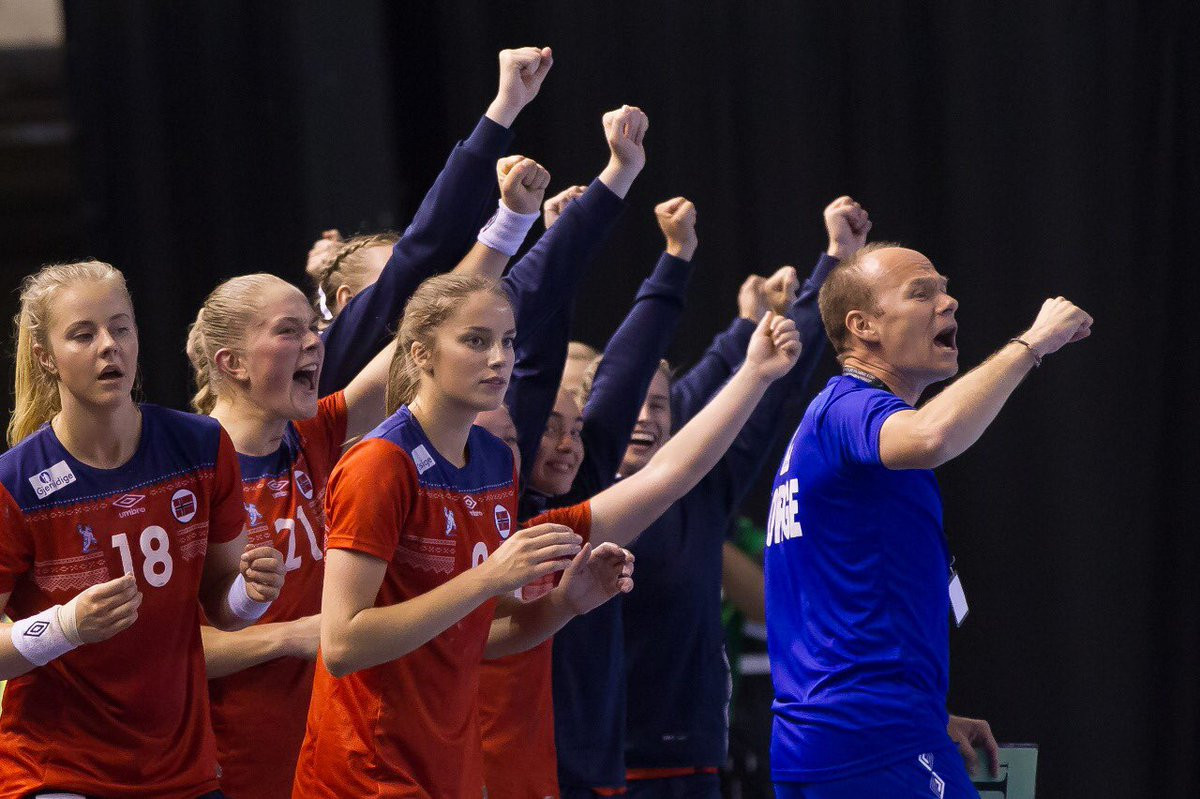 Norway edged France to secure their place in the semi-finals ©IHF/Twitter