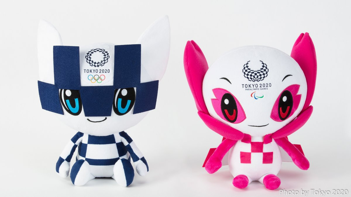 Tokyo 2020 unveil first set of mascot merchandise for Olympic and Paralympic Games