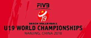 Schneider and Pfretzschner reach last 16 of Beach Volleyball Under-19 World Championships with perfect record