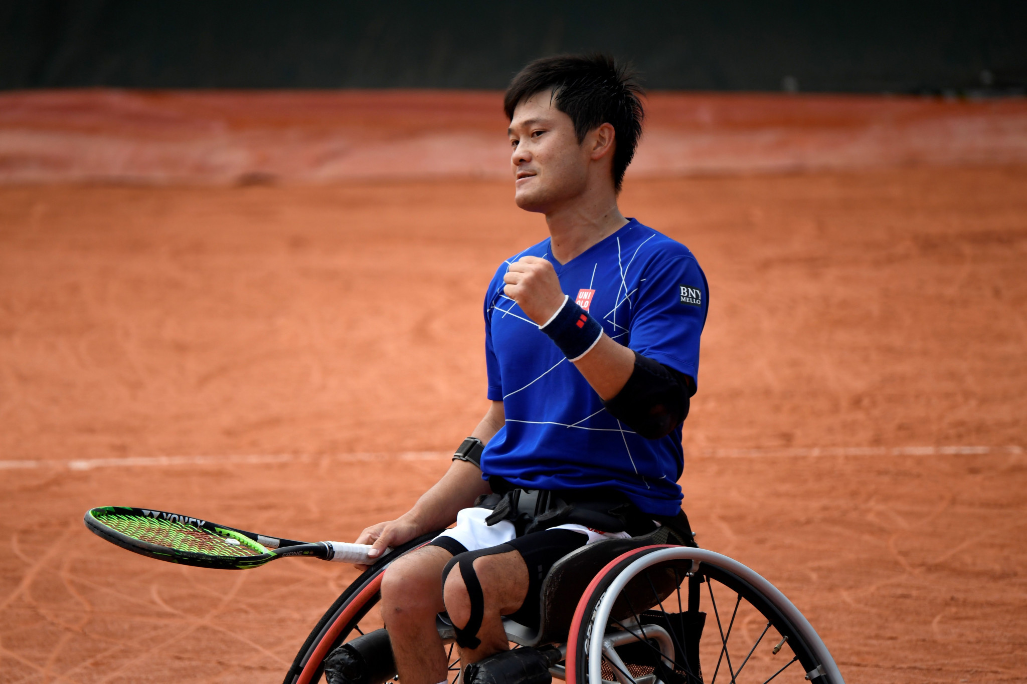 Japan's world number one Shingo Kunieda lost his opening men's wheelchair singles match at Wmbledon ©Getty Images