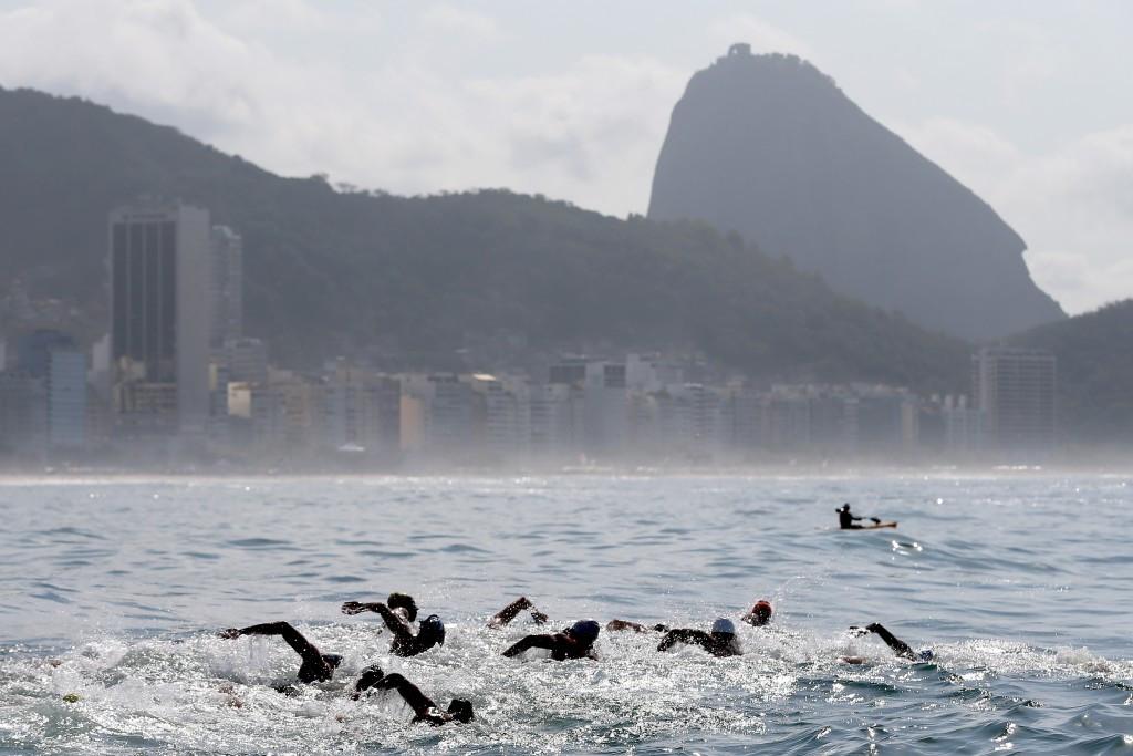 FINA medical committee says Copacabana water