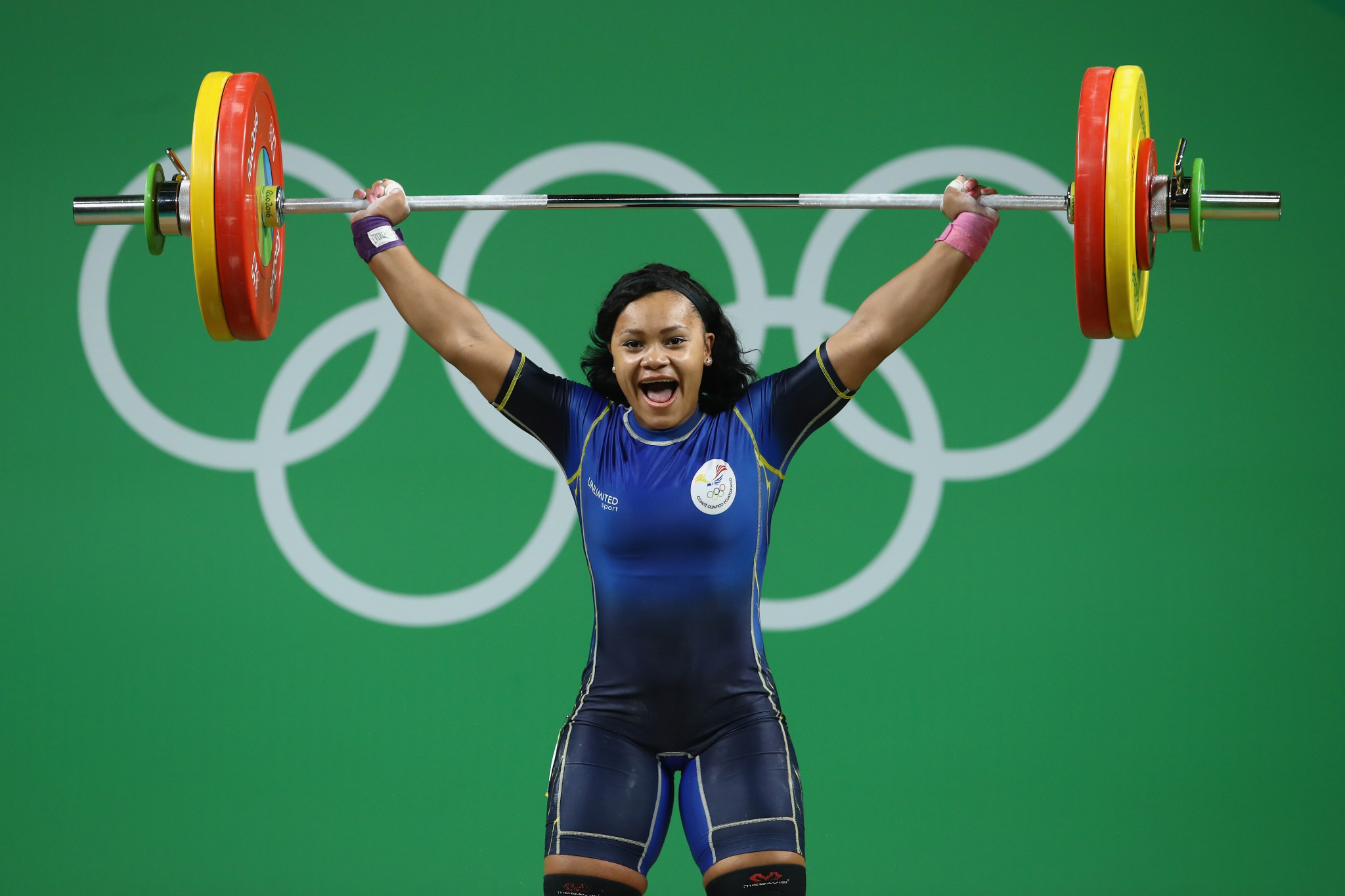 Neisi Patricia Dajomes Barrera, a Rio 2016 Olympian, won three gold medals in Tashkent ©Getty Images