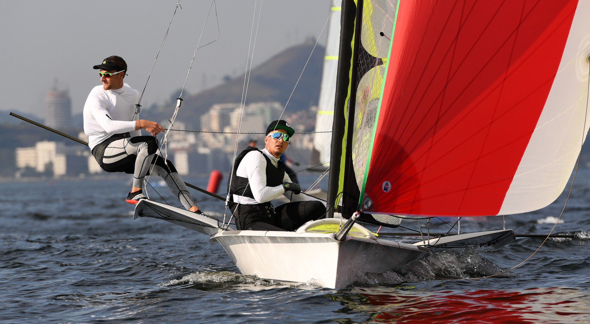 Polish pair edge closer to 49er gold at European Championships