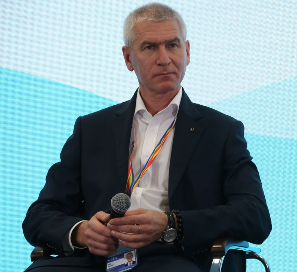FISU President Oleg Matytsin was part of the meeting where the agreement was sealed ©FISU