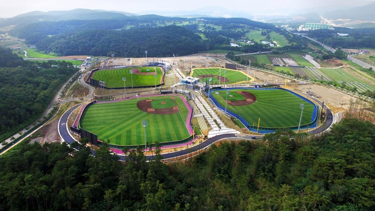 Gijang-Hyundai Dream Ballpark, the largest youth baseball facility in Korea, will provide the setting for the 2019 Under-18 Baseball World Cup ©WBSC