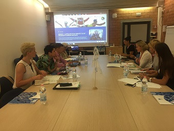 The European Olympic Committees' newly-elected Gender Equality in Sport Commission has met for the first time in Rome ©EOC