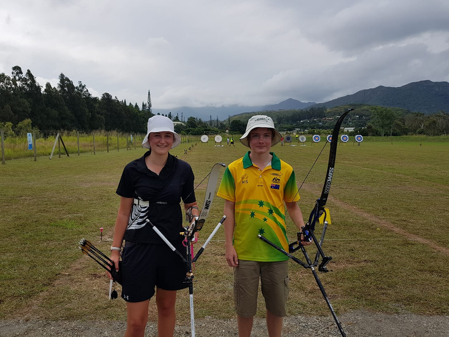 Australia and New Zealand earn Buenos Aires 2018 archery quota places in New Caledonia