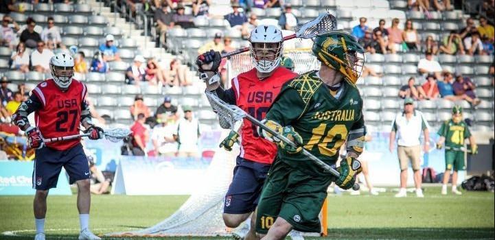 Australia make winning start to campaign at Men's Lacrosse World Championship