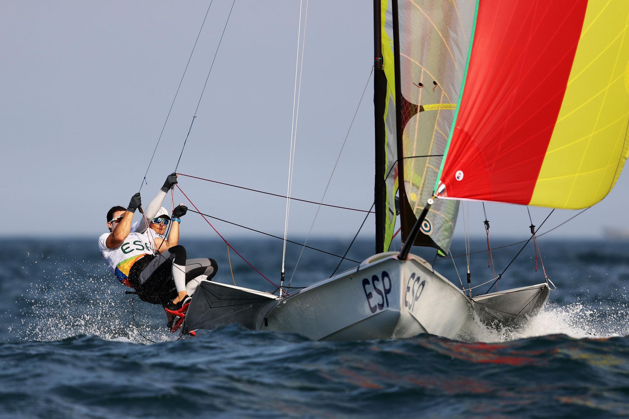Botín and Lopez win men's 49er European Championships as leaders falter on final day