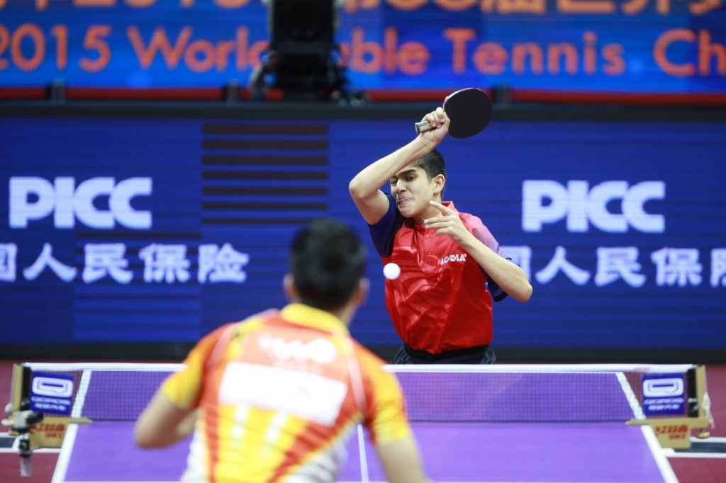 Paraguayan london 2012 player seals passage into main draw of ittf world championships - World table tennis championships ...