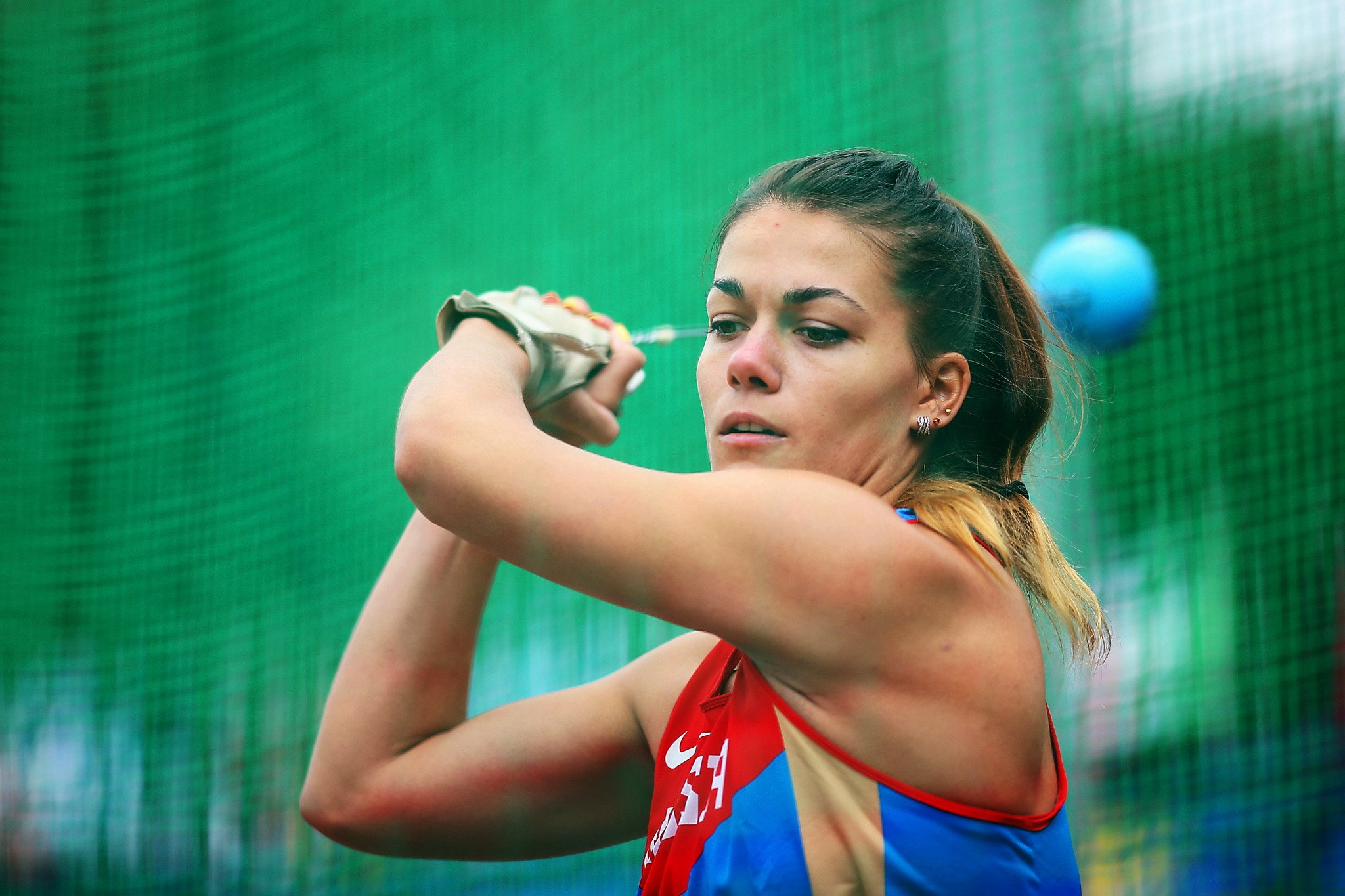 Hammer thrower Yelizaveta Tsareva is among the five Russian athletes to have had an application approved by the IAAF to compete neutrally in 2018 ©Getty Images