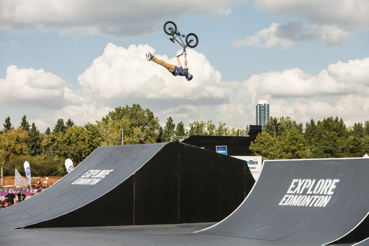 BMX qualification focus of opening day of FISE World Series event in Edmonton