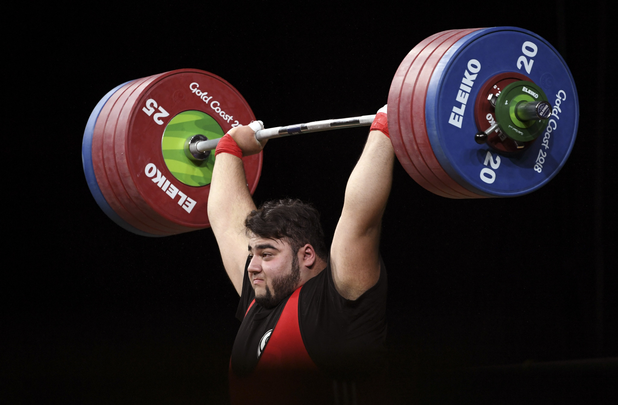 Pakistan's Muhammad Nooh Dastgir Butt was the overall bronze medallist in the men's over-105kg category ©Getty Images