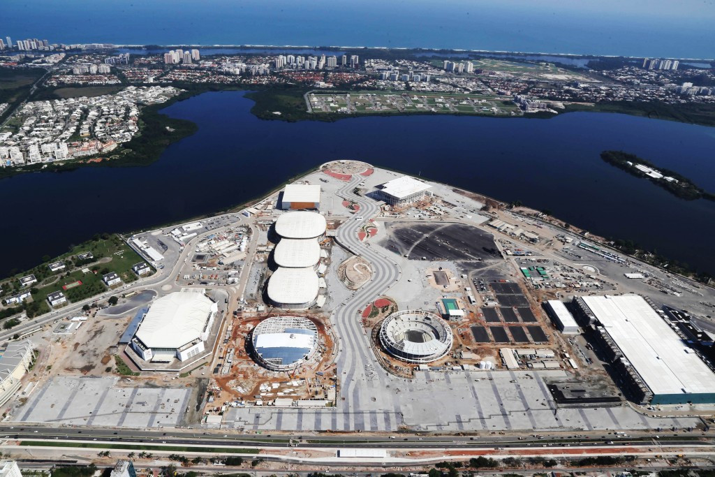 Rio 2016 claim several Olympic venues are approaching completion