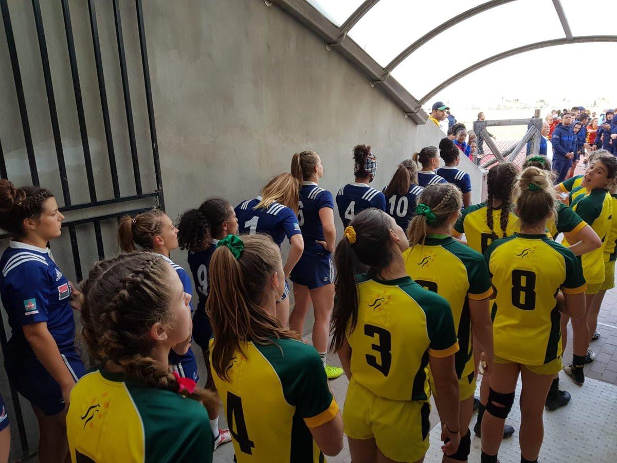 France and Australia prepare for the women's final ©FISU