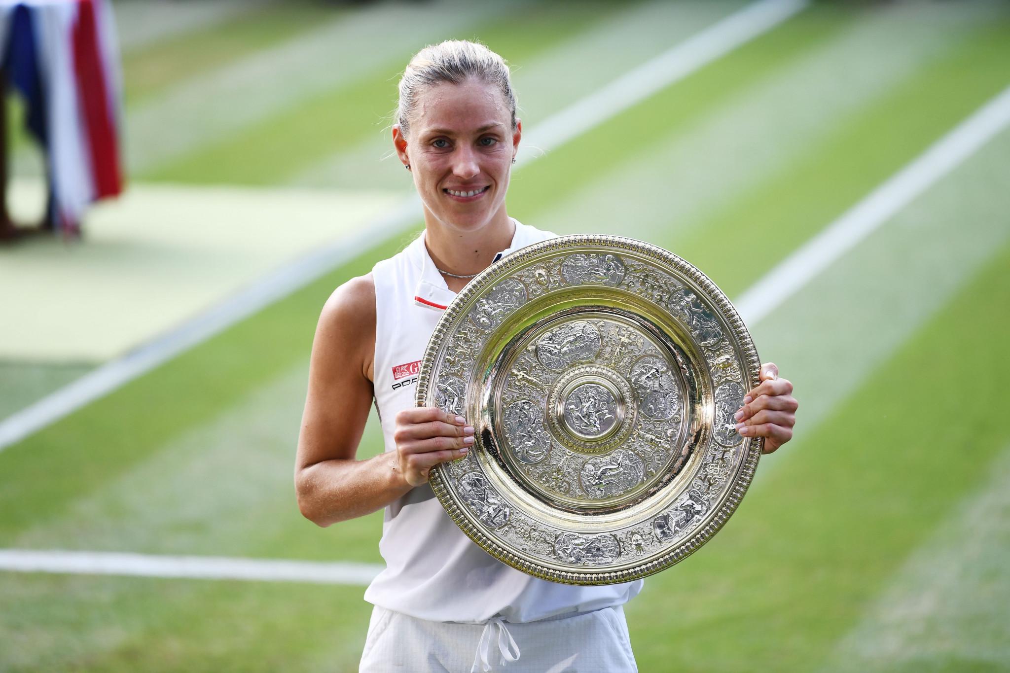 Kerber beats Williams to earn first Wimbledon title as Djokovic completes epic semi-final win over Nadal