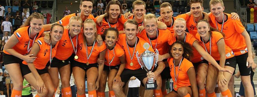 The Netherlands down Belgium to win Under-21 World Korfball Championships