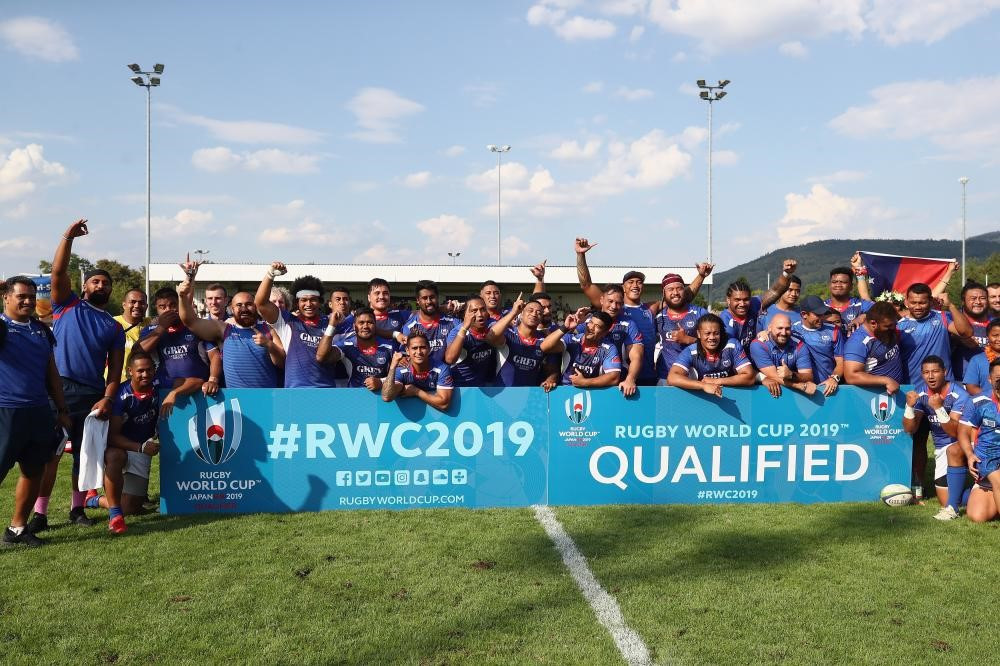 Beaumont congratulates Samoa on Rugby World Cup qualification