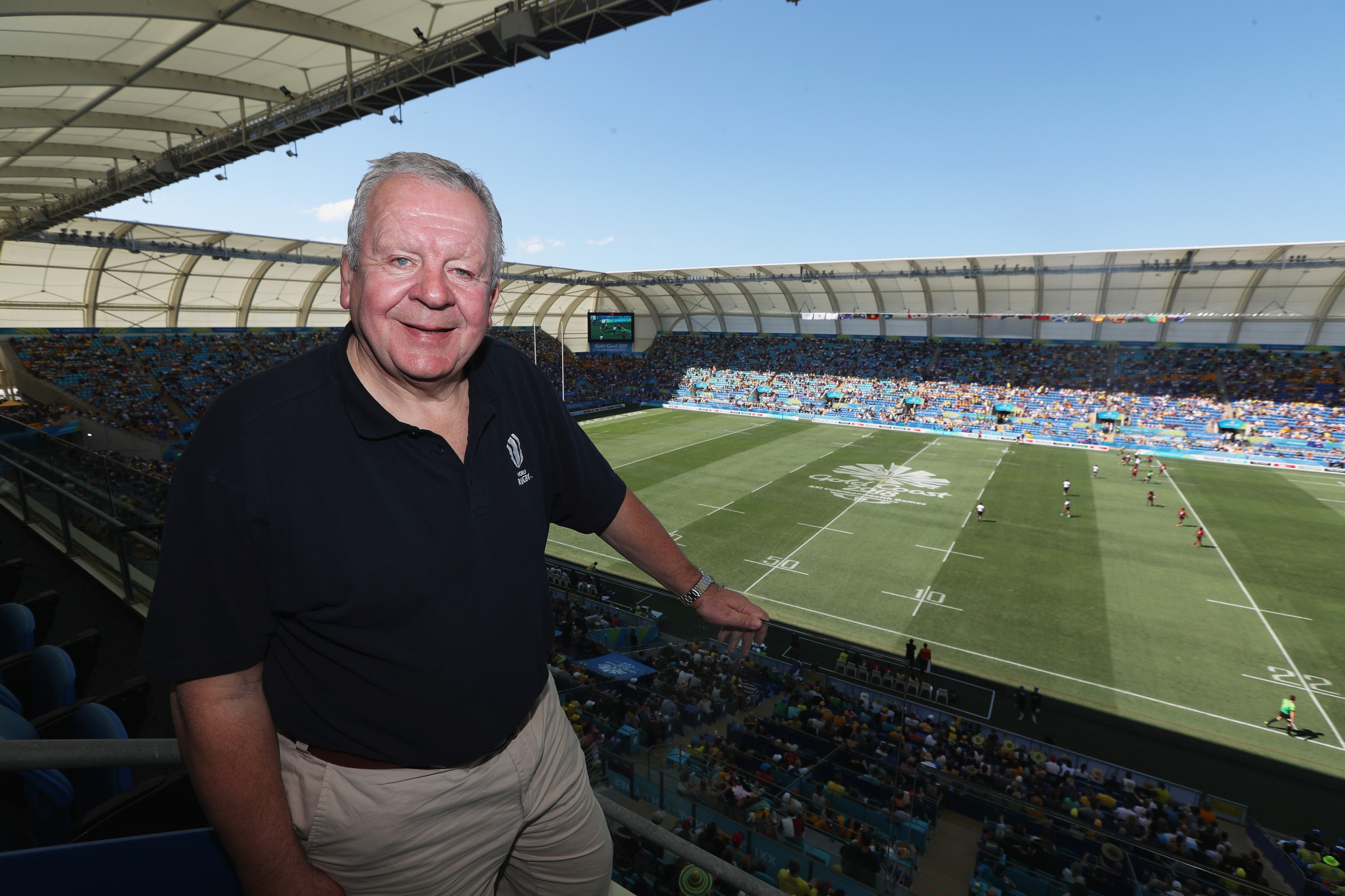 Bill Beaumont congratulated Samoa and offered hope to Germany ©Getty Images