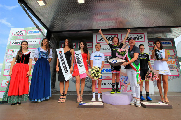Victory on the ninth stage to Monte Zoncolan set Annemiek van Vleuten up for a final triumph in the Giro Rosa ©UCI