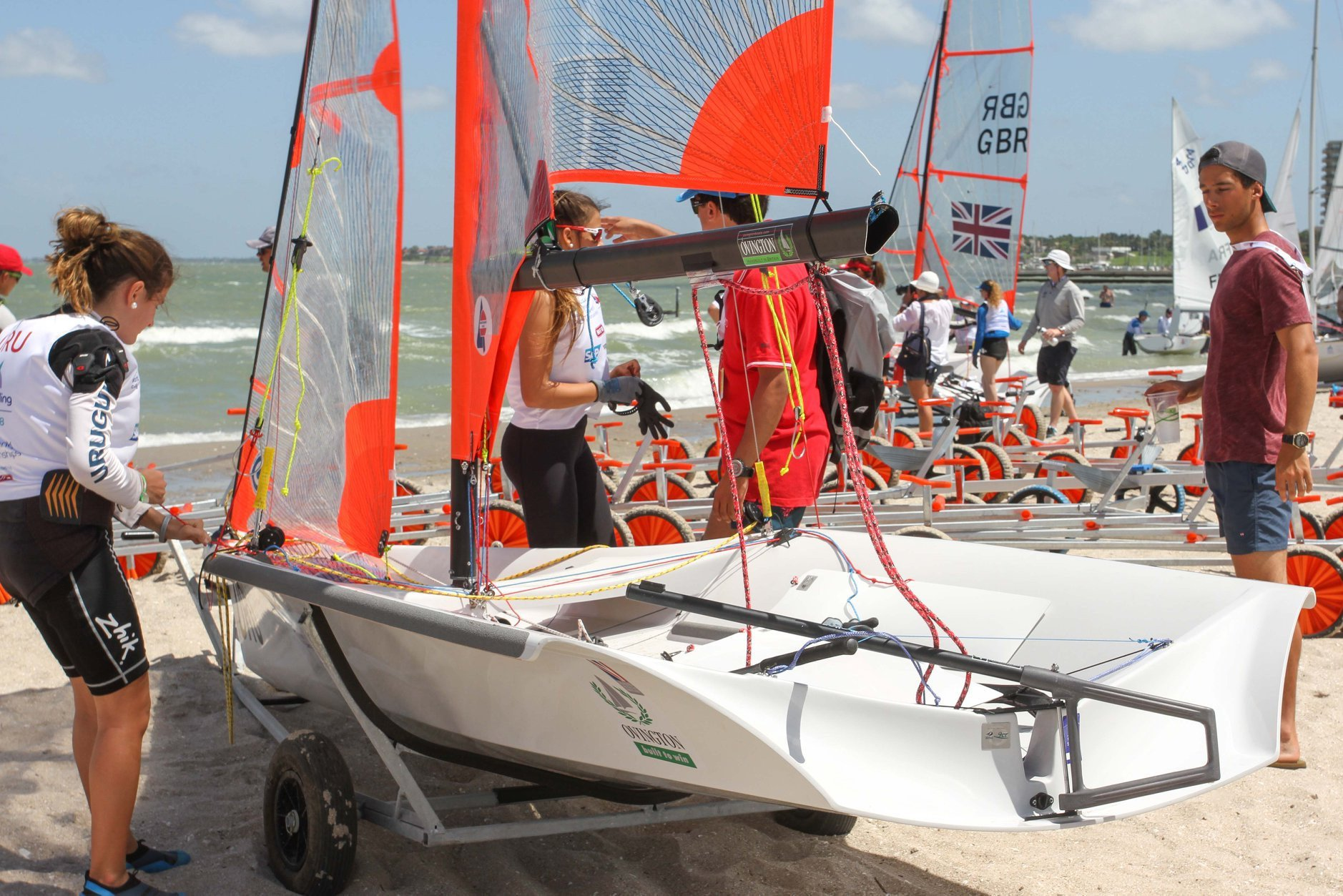 Youth Sailing World Championships to begin in Texas