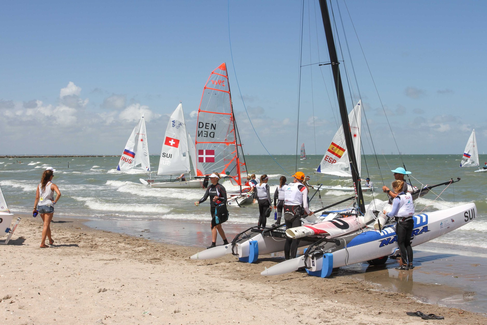 Competition will take place over five days in the United States ©World Sailing