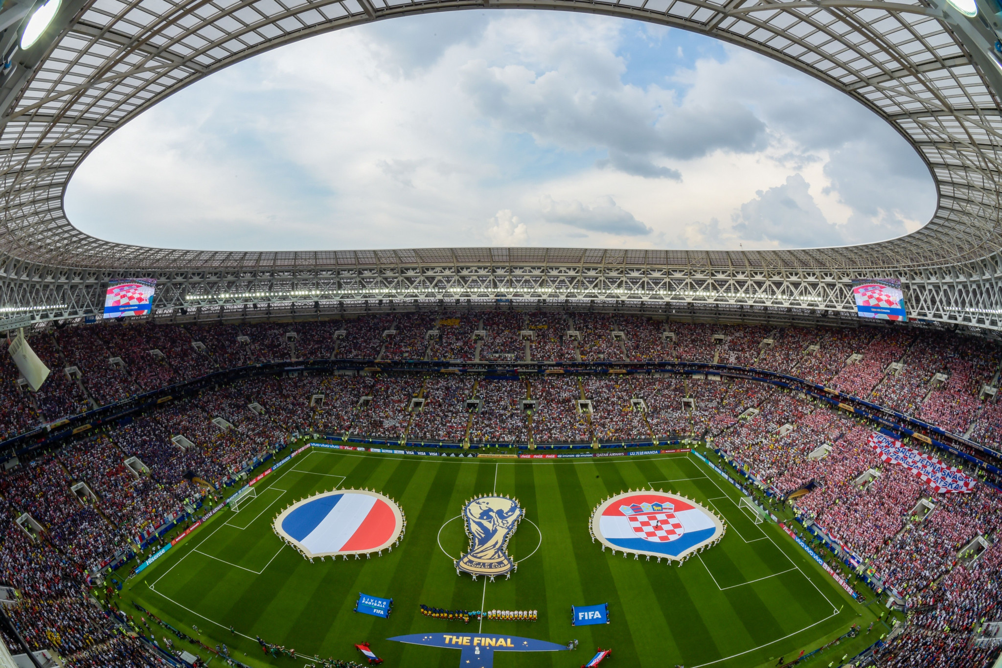 France and Croatia's clash in the final was the 64th match of the tournament ©Getty Images