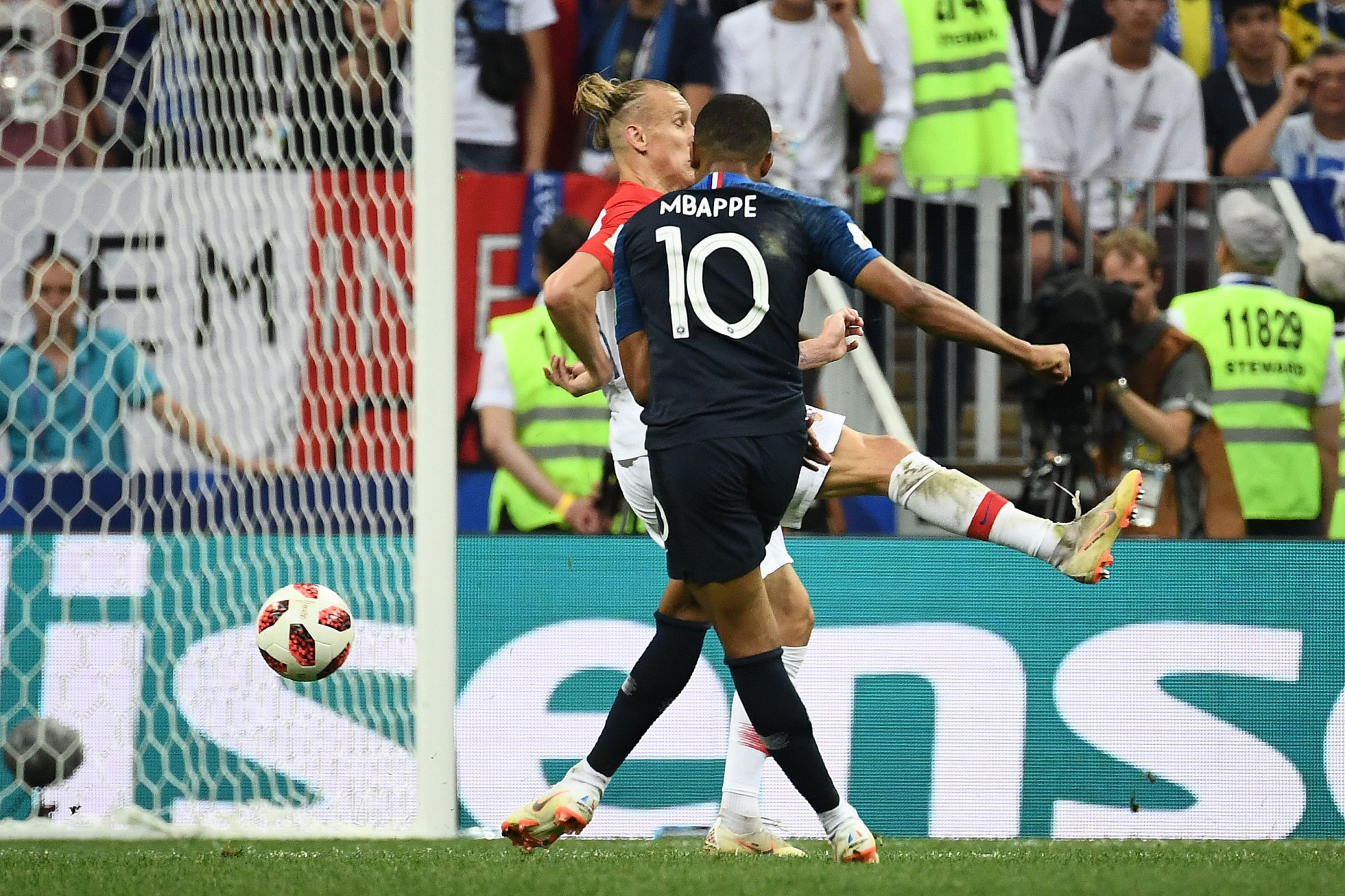 Kylian Mbappe scored France's fourth goal from range to utlimately seal their second World Cup success ©Getty Images