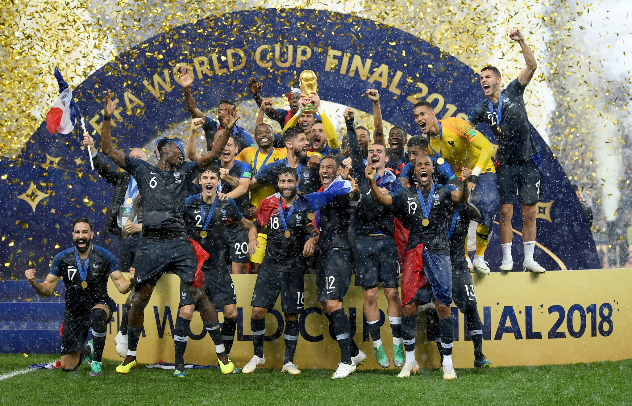 France were crowned winners of the FIFA World Cup for the second time ©Getty Images
