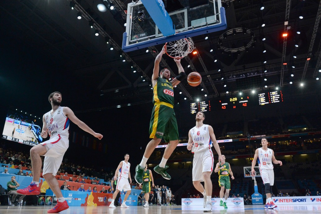 Lithuania edge past Serbia to reach consecutive EuroBasket finals and earn Olympic qualification