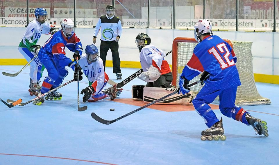 Defending champions United States continue perfect start to Inline Hockey World Championships