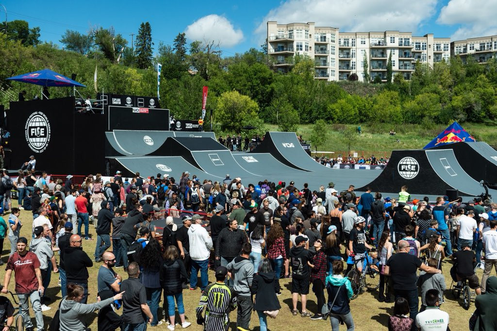 The three-day FISE World Series event in Edmonton ended with a series of finals ©UCI