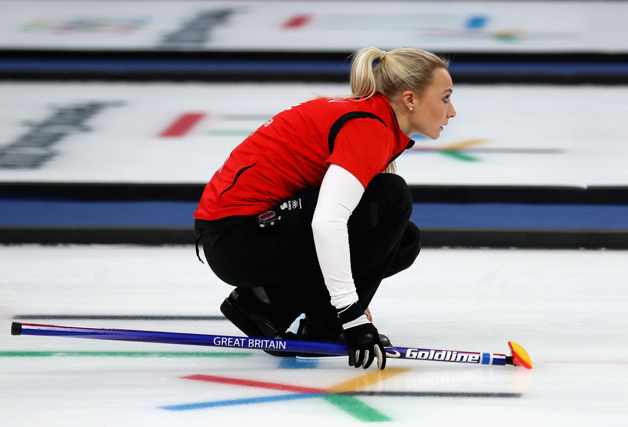 British curler Anna Sloan has decided to take a career break ahead of the 2022 Winter Olympic Games in Beijing ©Getty Images