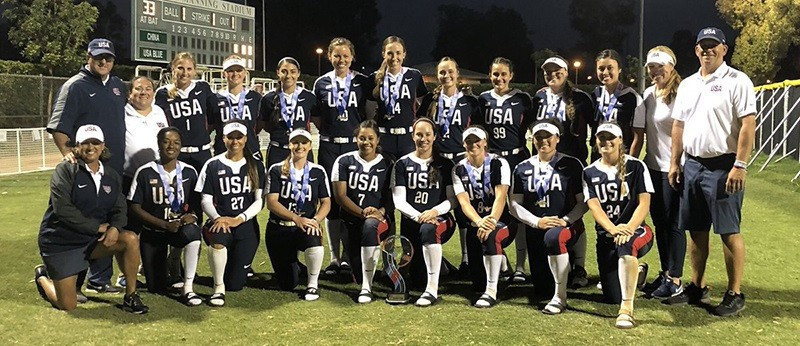 USA Red beat Japan in final of USA Softball International Cup