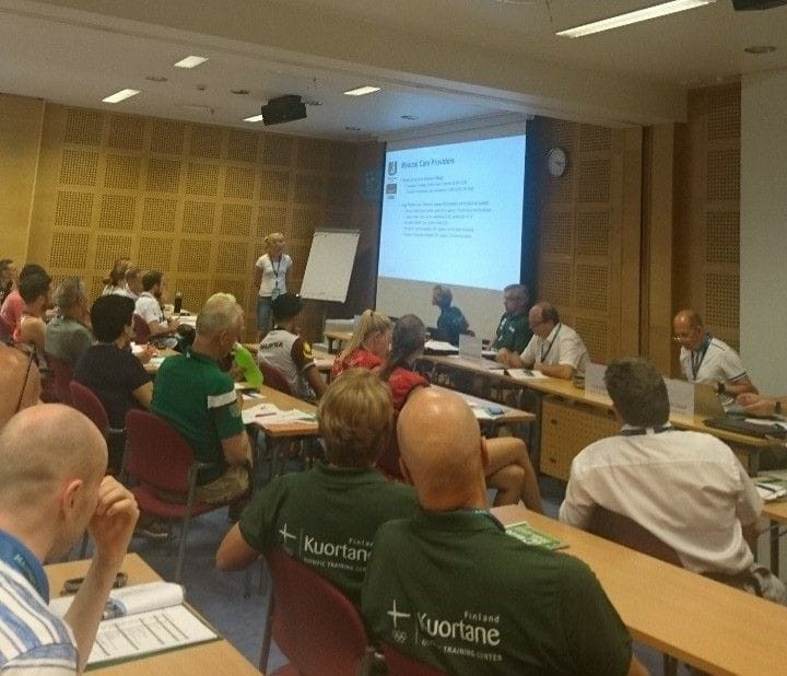 Meetings took place ahead of competition beginning tomorrow ©Facebook/WUC Orienteering 2018