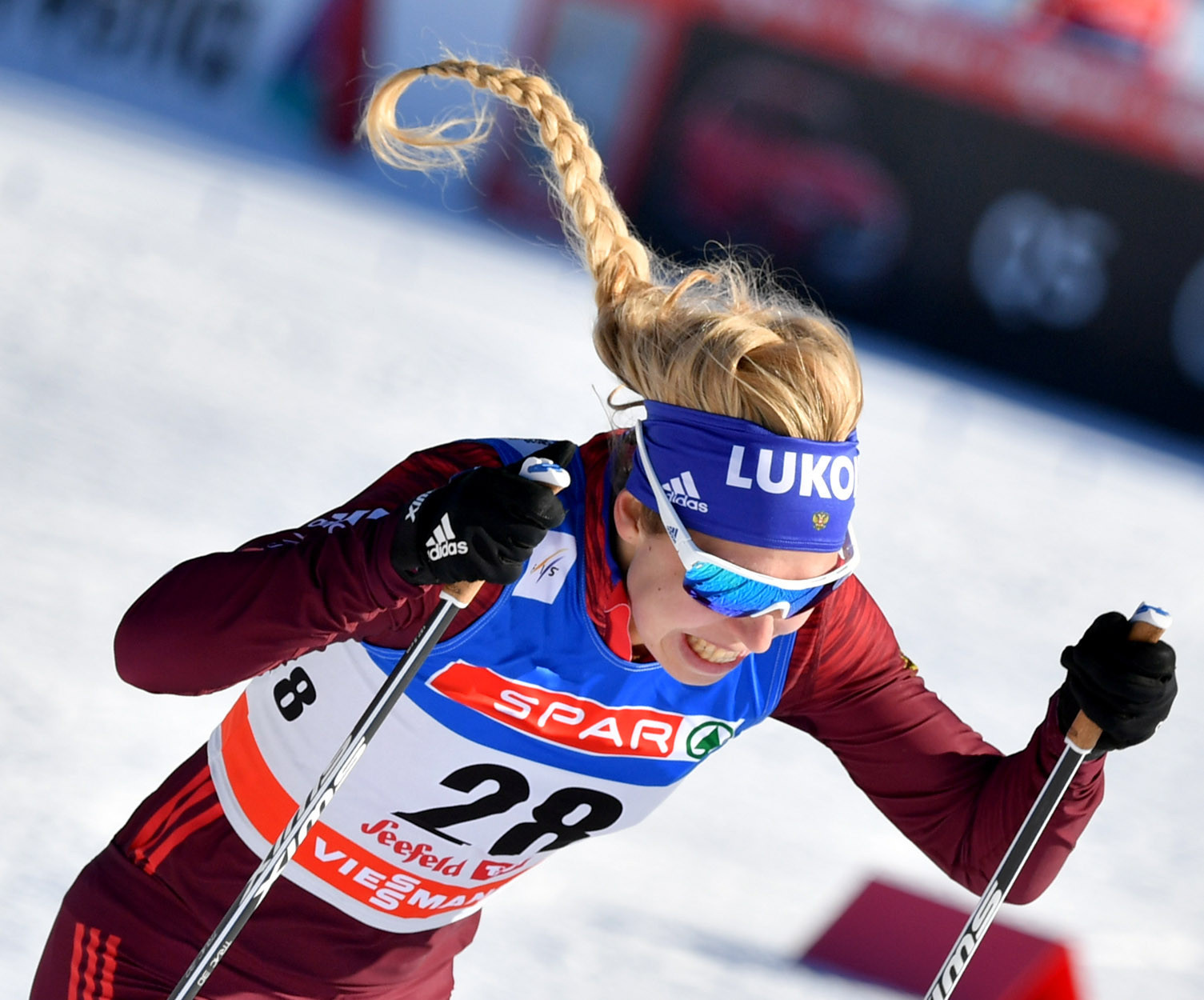 Russian cross-country skier set to have four-year ban halved because it is against rules
